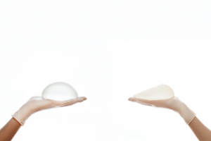 teardrop breast implant before and after